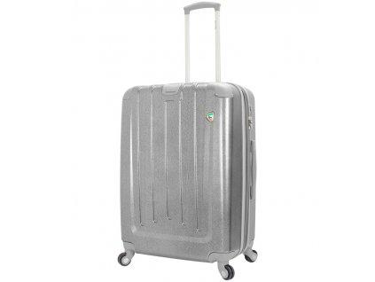Cestovní kufr MIA TORO M1324/3-L - stříbrná  + Sluchátka, myš nebo pouzdro