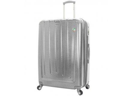 Cestovní kufr MIA TORO M1324/3-XL - stříbrná  + Sluchátka, myš nebo pouzdro