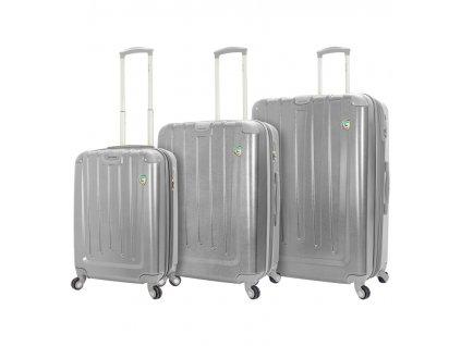 Sada cestovních kufrů MIA TORO M1324/3 - stříbrná