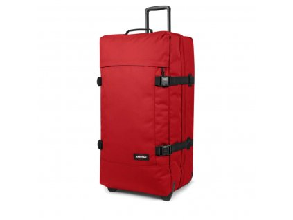 eastpak luggage eastpak tranverz l luggage apple pick red