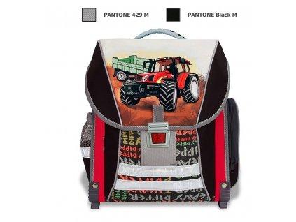 Školní batoh Traktor  + Sluchátka, myš nebo pouzdro