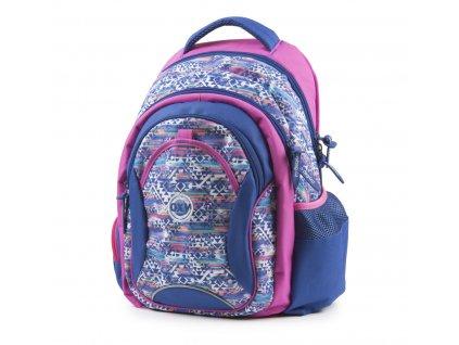 Studentský batoh OXY Fashion Aztek 7-70818. ZdarmaZdarma 8332fc157a