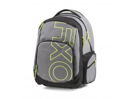 Studentský batoh OXY Style GREY LINE Green 7-71318