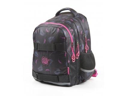 Studentský batoh OXY One Peříčka 7-69818