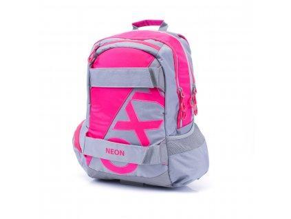 Studentský batoh OXY Sport NEON LINE Pink 3-17417