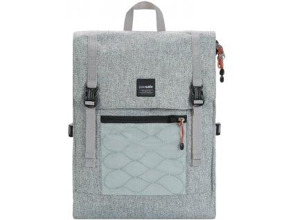 PACSAFE batoh SLINGSAFE LX450 tweed grey  + Sluchátka, myš nebo pouzdro