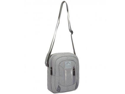 Taška přes rameno GEAR 9006 - šedá