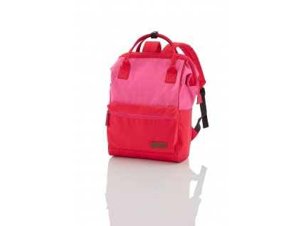 Travelite Neopak Multi-carry backpack Red/pink