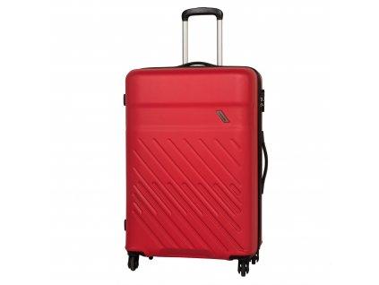 Travelite Vinda 4w L Red  + Sluchátka, myš nebo pouzdro