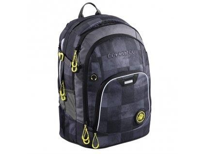 Školní batoh Coocazoo RayDay, Mamor Check  + LED svítilna