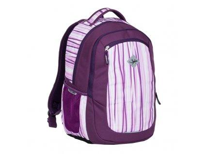 Studentský batoh 2v1 VIKI Lilla  + LED svítilna