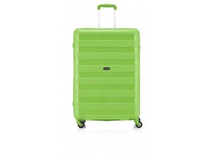 Travelite Nova 4w L Light Green  + Sluchátka, myš nebo pouzdro