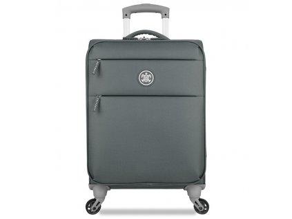 Kabinové zavazadlo SUITSUIT® TR-12552/1-S Caretta Soft Cool Grey  + LED svítilna