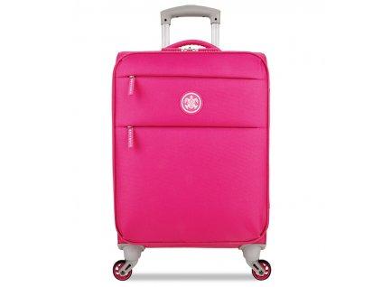 Kabinové zavazadlo SUITSUIT® TR-12572/1-S Caretta Soft Hot Pink  + LED svítilna