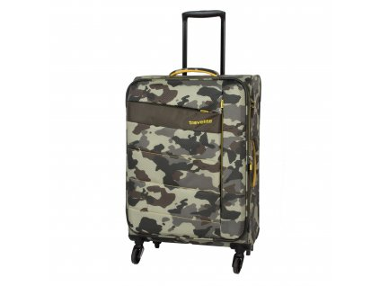 Travelite Kite 4w M Camouflage  + Sluchátka, myš nebo pouzdro