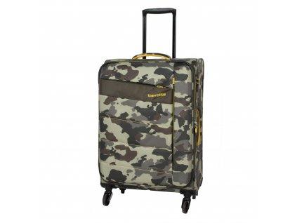 Travelite Kite 4w M Camouflage  + LED svítilna
