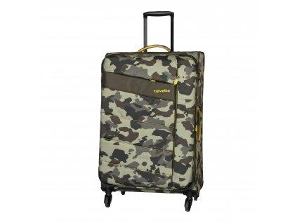 Travelite Kite 4w L Camouflage  + LED svítilna