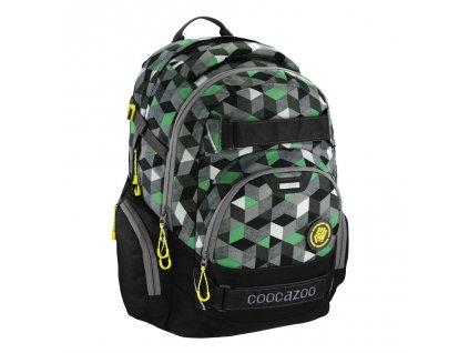 Školní batoh Coocazoo CarryLarry2, Crazy Cubes  + 5 % sleva po registraci + LED svítilna