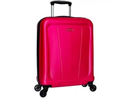 Kabinové zavazadlo SIROCCO T-1213/1-S ABS - růžová  + Sluchátka, myš nebo pouzdro