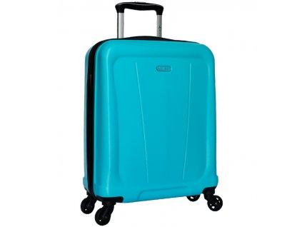 Kabinové zavazadlo SIROCCO T-1213/1-S ABS - modrá  + Sluchátka, myš nebo pouzdro