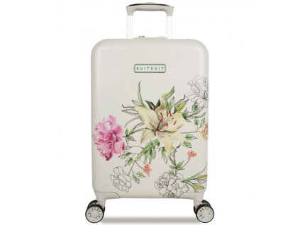 Kabinové zavazadlo SUITSUIT® TR-5101/3-S - 10th Anniversary English Garden  + Sluchátka, myš nebo pouzdro