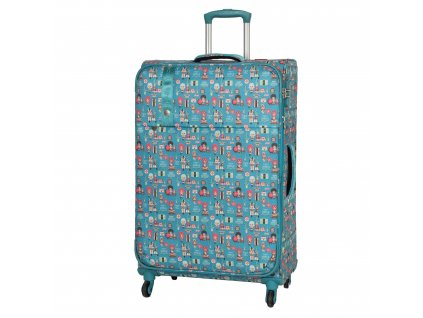 Travelite Lil' Ledy 4w L Turquoise  + LED svítilna