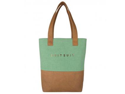 Dámská taška SUITSUIT® BS-71081 Basil Green  + LED svítilna