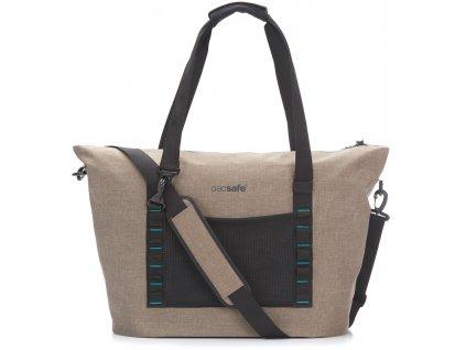 PACSAFE taška PACSAFE DRY  BEACH BAG sand  + Sluchátka, myš nebo pouzdro