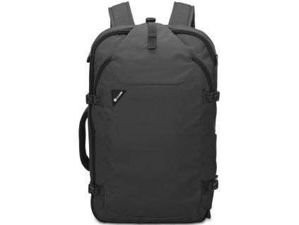 PACSAFE batoh VENTURESAFE EXP45 black  + LED svítilna