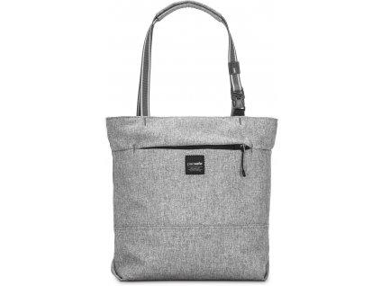 PACSAFE taška SLINGSAFE LX200 tweed grey  + LED svítilna
