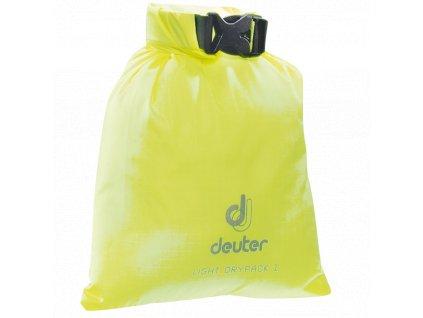 Deuter_Light_Drypack_1_neon_-_vodotěsný_vak