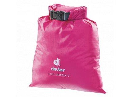 Deuter_Light_Drypack_3_magenta_-_vodotěsný_vak