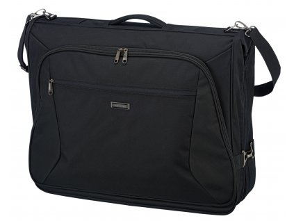 Travelite Mobile Garment Bag Business Black  + LED svítilna