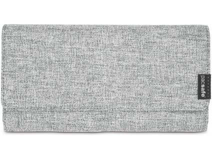 PACSAFE peneženka RFIDsafe LX200 tweed grey