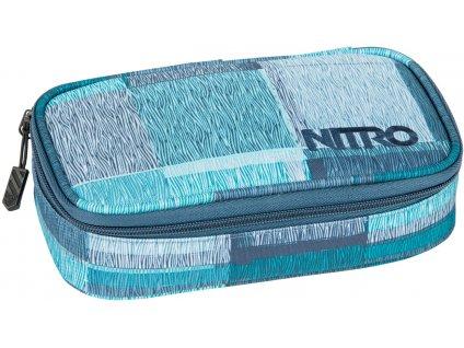 NITRO penál PENCIL CASE XL zebra ice