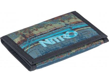 NITRO peneženka WALLET frequency blue