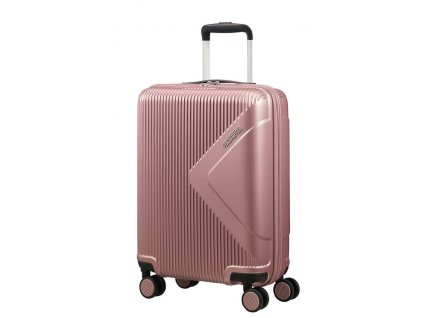 American Tourister MODERN DREAM S 55 cm Rose gold  + LED svítilna