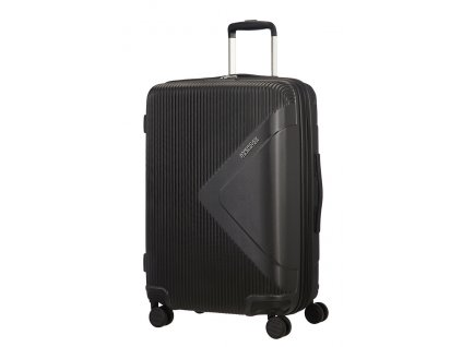 American Tourister MODERN DREAM M 69 cm Universe black  + LED svítilna
