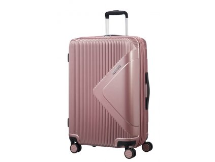 American Tourister MODERN DREAM L 78 cm Rose gold  + LED svítilna
