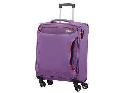 American Tourister HOLIDAY HEAT S 55 cm Lavender Purple  + LED svítilna