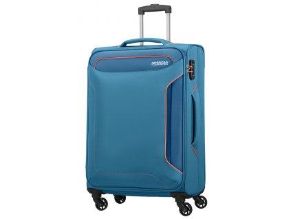 American Tourister HOLIDAY HEAT M 67 cm Denim Blue  + LED svítilna