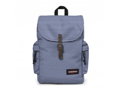 EASTPAK AUSTIN GINGHAM BLUE  + LED svítilna