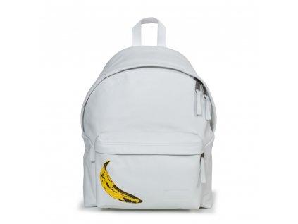 EASTPAK PADDED PAK'R Leather Banana  + LED svítilna