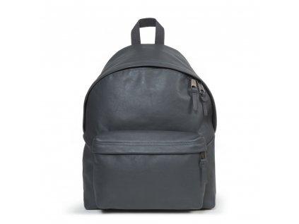 EASTPAK PADDED PAK'R Steel Leather  + Sluchátka, myš nebo pouzdro
