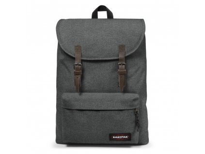 EASTPAK LONDON Black Denim  + LED svítilna