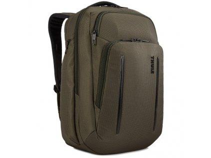 Thule Crossover 2 batoh 30L C2BP116 - tmavě zelený  + 5 % sleva po registraci + LED svítilna