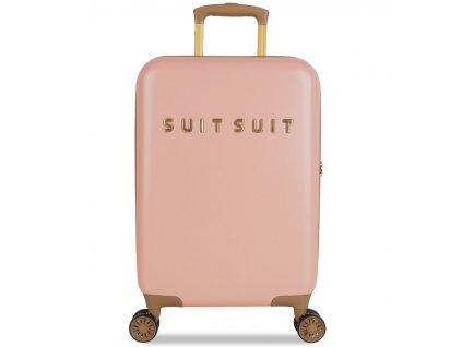 Kabinové zavazadlo SUITSUIT® TR-7101/3-S - Fab Seventies Coral Cloud  + Sluchátka, myš nebo pouzdro