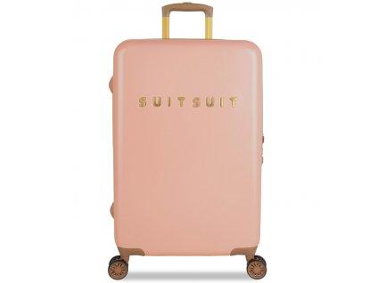 Cestovní kufr SUITSUIT® TR-7101/3-M - Fab Seventies Coral Cloud  + Sluchátka, myš nebo pouzdro