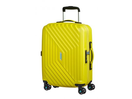American Tourister AIR FORCE 1  SPINNER 55 S - SUNNY YELLOW  + LED svítilna