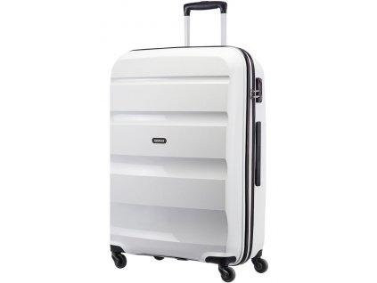 American Tourister BON AIR SPINNER L - WHITE  + Sluchátka, myš nebo pouzdro